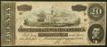 Confederate Notes:1864 Issues, T67 $20 1864 About Uncirculated.. ...