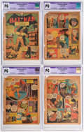 Golden Age (1938-1955):Superhero, Detective Comics #44 CGC-Graded Pages 1-7 Only Group (DC, 1940).... (Total: 7 Items)