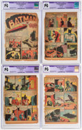 Golden Age (1938-1955):Superhero, Detective Comics #33 CGC-Graded Pages 1-6 Only (DC, 1939).... (Total: 6 Items)