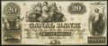 Obsoletes By State:Louisiana, New Orleans, LA- Canal Bank $20 18__ Remainder Choice Crisp Uncirculated.. ...