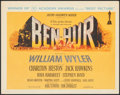 "Movie Posters:Academy Award Winners, Ben-Hur (MGM, 1960). Very Fine+. Title Lobby Card (11"" X 14""). Academy Award Style. . ..."