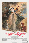 "Movie Posters:Animation, The Lord of the Rings (United Artists, 1978). Folded, Very Fine. One Sheet (27"" X 41"") Tom Jung Artwork. Animation.. ..."