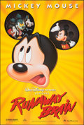 """Movie Posters:Animation, Runaway Brain & Other Lot (Buena Vista, 1995). Rolled, Very Fine+. One Sheets (2) (27"""" X 40"""" & 26.75"""" X 39.75"""") DS. Animatio... (Total: 2 Items)"""