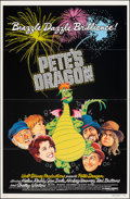 """Movie Posters:Animation, Pete's Dragon (Buena Vista, 1977). Flat Folded, Very Fine. One Sheet (27"""" X 41"""") & Lobby Card Set of 9 (11"""" X 14"""") Paul Wenz... (Total: 10 Items)"""