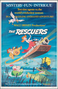 "Movie Posters:Animation, The Rescuers (Buena Vista, 1977). Flat Folded, Very Fine. One Sheet (27"" X 41"") & Lobby Card Set of 9 (11"" X 14""). Animation... (Total: 10 Items)"
