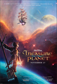 """Treasure Planet & Other Lot (Buena Vista, 2002). Rolled, Very Fine+. One Sheets (2) (27"""" X 40"""") DS Advance..."""