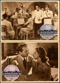 Movie Posters:Academy Award Winners, Casablanca (Warner Bros., R-1953). Very Fine. Ital...