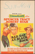 "Movie Posters:Thriller, Bad Day at Black Rock (MGM, 1955). Fine+. Window Card (14"" X 22""). Thriller.. ..."