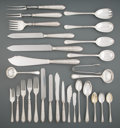 Silver & Vertu, A One Hundred Ninety-Five Piece Mappin & Webb Ltd. Silver Flatware Service in Original Fitted Case, Sheffield, England, 1929... (Total: 195 Items)