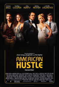 """American Hustle & Other Lot (Sony Pictures Releasing, 2013). Rolled, Very Fine+. One Sheets (2) (27"""" X 40""""..."""