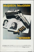 """Movie Posters:Action, The Getaway (National General, 1972). Folded, Very Fine. One Sheet (27"""" X 41""""). Action.. ..."""