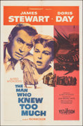 """Movie Posters:Hitchcock, The Man Who Knew Too Much (Paramount, 1956). Folded, Fine+. One Sheet (27"""" X 41""""). Hitchcock.. ..."""