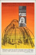 """Movie Posters:Science Fiction, Planet of the Apes (20th Century Fox, 1968). Folded, Fine/Very Fine. One Sheet (27"""" X 41""""). Science Fiction.. ..."""