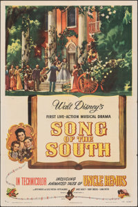 """Song of the South (RKO, 1946). Folded, Fine+. One Sheet (27"""" X 41""""). Animation"""
