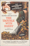 """Movie Posters:Hitchcock, The Trouble with Harry (Paramount, 1955). Folded, Fine/Very Fine. One Sheet (27"""" X 41""""). Hitchcock.. ..."""