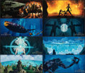 """Movie Posters:Animation, Atlantis: The Lost Empire & Other Lot (Buena Vista, 2001). Near Mint. International Lobby Card Sets of 8 (19.5"""" X 8.25"""" & 14... (Total: 16 Items)"""