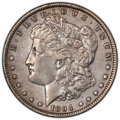 Morgan Dollars: , 1894 $1 -- Cleaning -- PCGS Genuine. XF Details. Mintage 110,972. ...