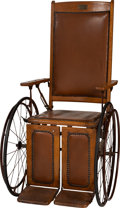 Political:Presidential Relics, Franklin D. Roosevelt: Personally-Used Wheelchair From Hot Springs, Arkansas....