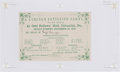 Political:Small Paper (1896-present), Abraham Lincoln: Post-1860 Election Celebration Ticket....