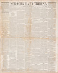 Miscellaneous:Newspaper, NY Daily Tribune: Women's Rights Convention [Woman's Suffrage]....