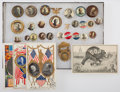 Political:Pinback Buttons (1896-present), William Howard Taft: Buttons and Postcards....