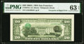 Inverted Third Printing on Back Error Fr. 2076-L $20 1988A Federal Reserve Note. PMG Choice Uncirculated 63 EPQ