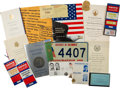 Political:Small Paper (1896-present), John F. Kennedy: Large Group Of Inaugural Items....