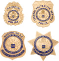 Political:Inaugural (1789-present), Group Of Inauguration Police Badges....