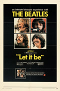 Movie Posters:Rock and Roll, Let It Be (United Artists, 1970). Folded, Fine/Very Fine.