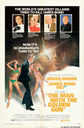 "Movie Posters:James Bond, The Man with the Golden Gun (United Artists, 1974). Folded, Very Fine+. One Sheet (27"" X 41"") Style B, Robert McGuiness Artw..."