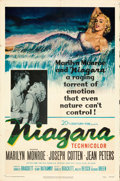 Movie Posters:Film Noir, Niagara (20th Century Fox, 1953). Folded, Fine/Very Fine.