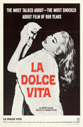 Movie Posters:Foreign, La Dolce Vita (Astor, 1960). Folded, Very Fine/Near Mint.
