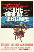 Movie Posters:War, The Great Escape (United Artists, 1963). Folded, Very Fine...