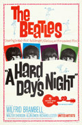 Movie Posters:Rock and Roll, A Hard Day's Night (United Artists, 1964). Folded, Very Fi...