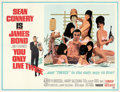 """Movie Posters:James Bond, You Only Live Twice (United Artists, 1967). Very Fine+ on Linen. Subway (45.5"""" X 59"""") Style C, Robert McGinnis Artwork.. ..."""