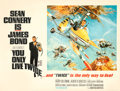 """Movie Posters:James Bond, You Only Live Twice (United Artists, 1967). Fine+ on Linen. British Quad (30"""" X 40"""") Style B, Frank McCarthy and Robert McGi..."""