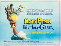 """Monty Python and the Holy Grail (EMI, 1975). Very Fine+ on Linen. Full-Bleed British Quad (30"""" X 40"""") Terry Gi..."""
