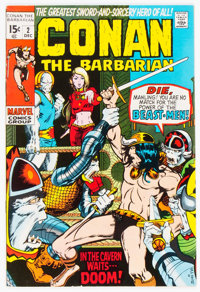 Conan the Barbarian #2 (Marvel, 1970) Condition: VF/NM