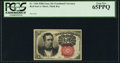 Fractional Currency:Fifth Issue, Fr. 1266 10¢ Fifth Issue PCGS Gem New 65PPQ.. ...