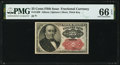 Fractional Currency:Fifth Issue, Fr. 1309 25¢ Fifth Issue PMG Gem Uncirculated 66 EPQ.. ...