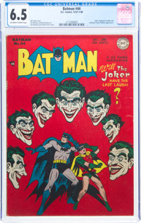 Batman #44 (DC, 1947) CGC FN+ 6.5 Off-white to white pages