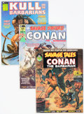 Magazines:Adventure, Savage Sword of Conan Group of 60 (Marvel, 1973-93) Condition: Average FN.... (Total: 60 Comic Books)