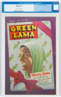 Golden Age (1938-1955):Superhero, Green Lama #7 (Spark Publications, 1946) CGC NM- 9.2 Cream to off-white pages....