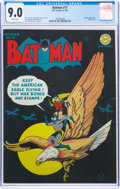 Golden Age (1938-1955):Superhero, Batman #17 (DC, 1943) CGC VF/NM 9.0 White pages....