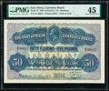 World Currency, East Africa East African Currency Board 50 Florins = 5 Pounds 1.5.1920 Pick 12 PMG Choice Extremely Fine 45.. ...