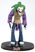 """Animation Art:Maquette, Batman: The Animated Series """"The Batman: The Joker"""" Limited Edition Maquette Artist's Proof #43/155 (Warner Brothers/D..."""