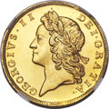 Heritage Select. 216. Great Britain: George II gold Proof 1/2 Guinea 1728 PR66 Cameo NGC, KM565.1, S-3681, W&R-7...