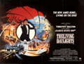 Movie Posters:James Bond, The Living Daylights (United Artists, 1987). Very Fine on ...