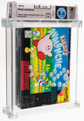 Video Games:Nintendo, Kirby's Avalanche - Wata 8.0 A Sealed, SNES Nintendo 1995 USA. ...