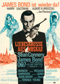 Movie Posters:James Bond, From Russia with Love (United Artists, 1964). Very Fine on...